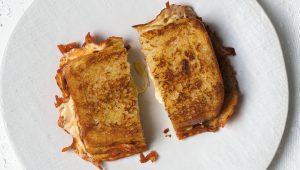 Loaded cheese toasties