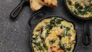 spinach and artichoke bake